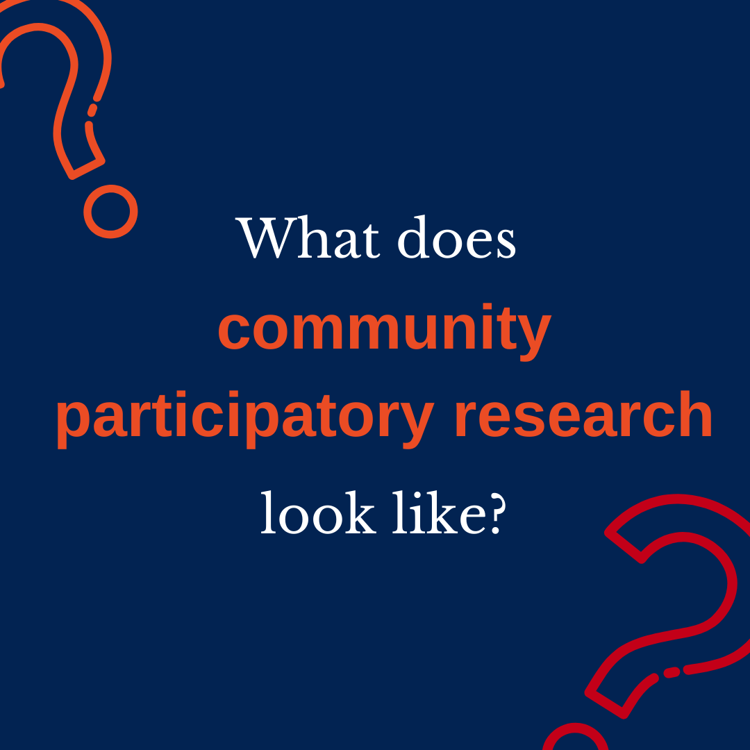 What does community participatory research look like_ (1)