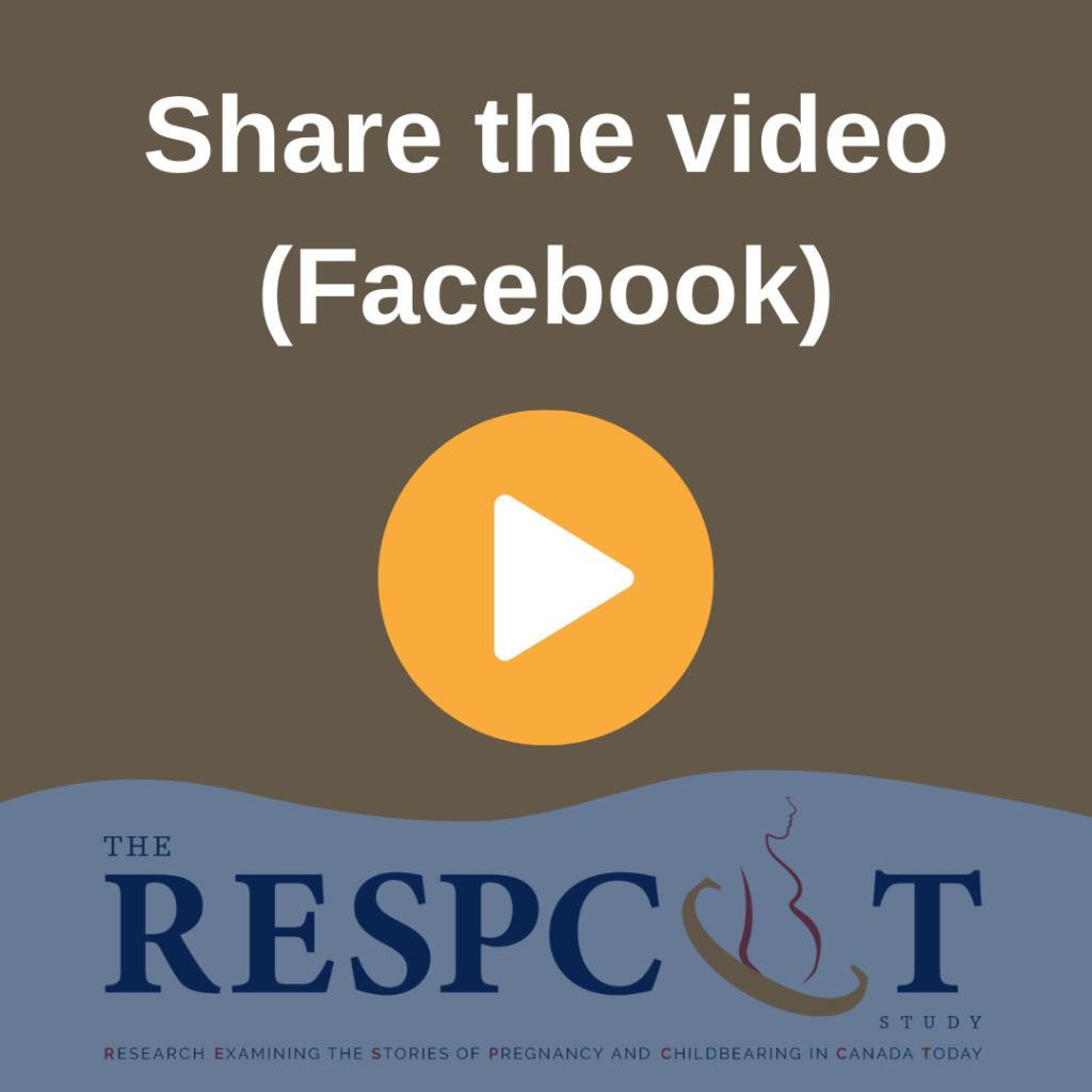 Share the video (Facebook)